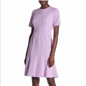 Donna Morgan Fit & Flare Lilac Dress